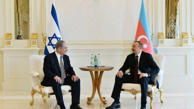 benjamin Netanyahu və İlham Əliyev