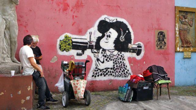 Mural de Mafalda