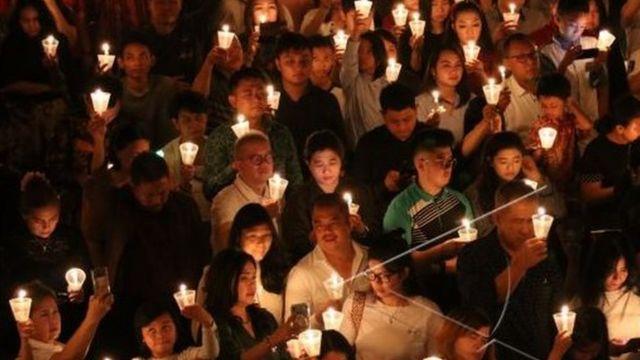 perayaan natal, gereja, pengamanan