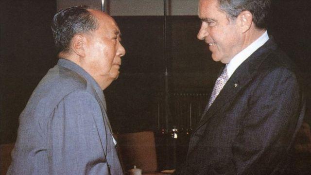 Cuộc gặp lịch sử Mao - Nixon 1972 chuyển hướng quan hệ của Hoa Kỳ với Trung Quốc