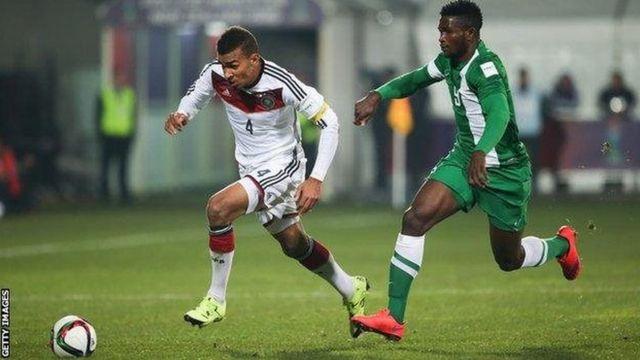 Lors de la Coupe du monde 2015 des moins de 20 ans, Akpoguma avait aidé l'Allemagne à battre le Nigeria.