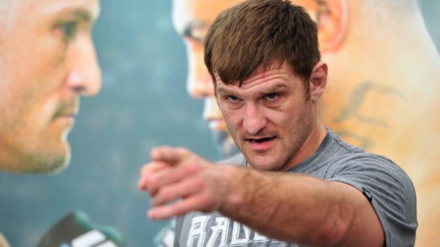 Stipe Mioci, campeón de peso pesado de la UFC