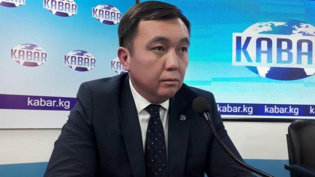 Тышкы иштер министринин орун басары Нурлан Абдрахманов