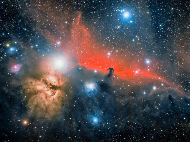 The Horsehead Nebula by Jose Jimenez Priego