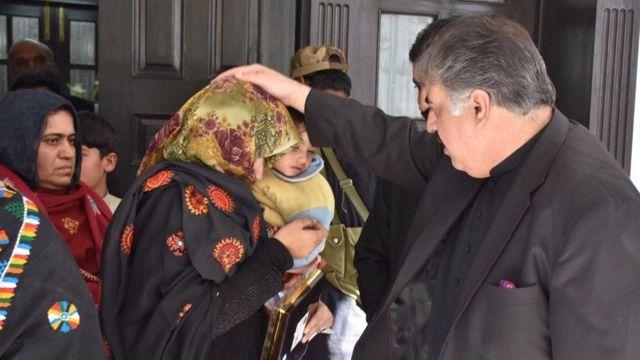 اللہ نذر بلوچ کی اہلیہ کی رہائی