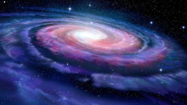 Una ilustración de la Vía Láctea