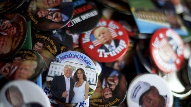 Trump é o candidato presidencial que menos gastou dinheiro em sua campanha