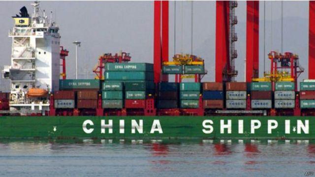 سفينة شحن صينية