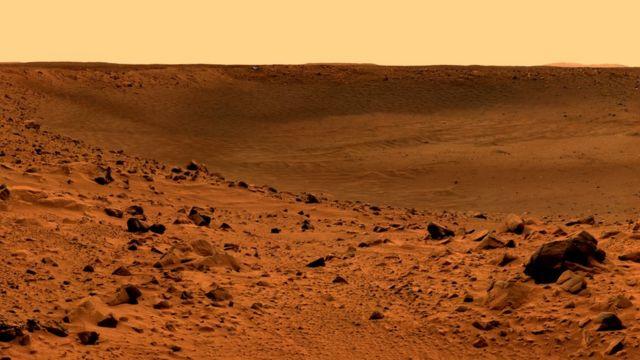 Marte. Foto: NASA/JPL/Universidad de Cornell.