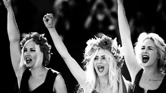 Femen на 70-м Венецианском кинофестивале, 5 сентября 2013