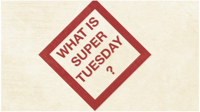 Image saying What Is Super Tuesday?