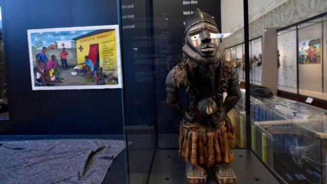 El Museo de África, a las afueras de Bruselas, es parte del controvertido legado de Leopoldo II.