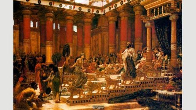 Visita da rainha de Sheba ao Rei Salomão