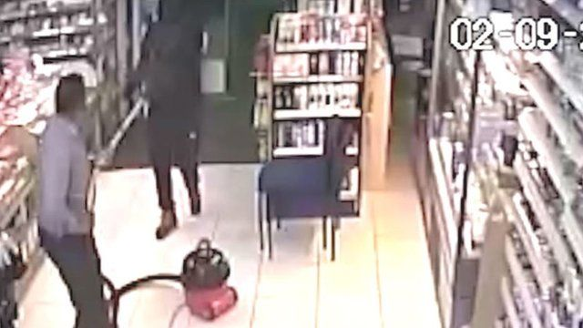 Shop cleaner fends off robber with Henry vacuum cleaner