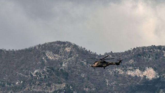 مروحية عسكرية تركية