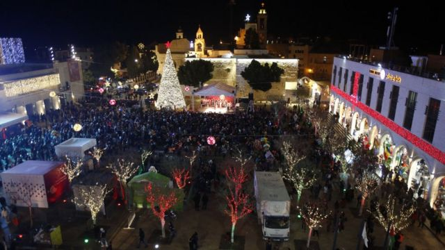 Christmas in the Palestinian Territories