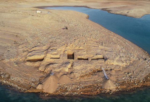 วังโบราณที่เคยจมอยู่ใต้เขื่อนโมซูลของอิรัก
