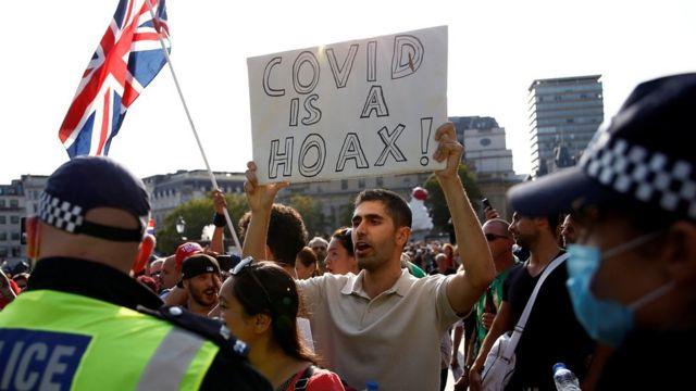 Демонстрация в Лондоне