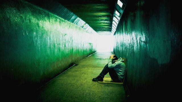 Homme sans abri