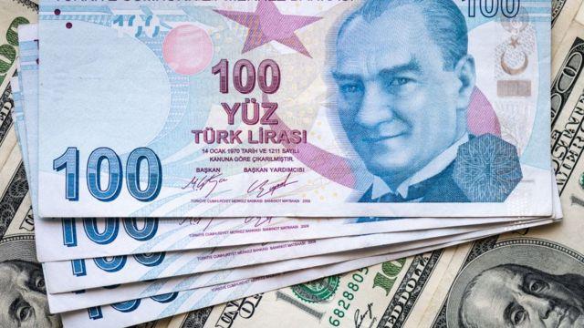 ورقة مئة ليرة تركية