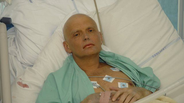 Alexander Litvinenko no hospital
