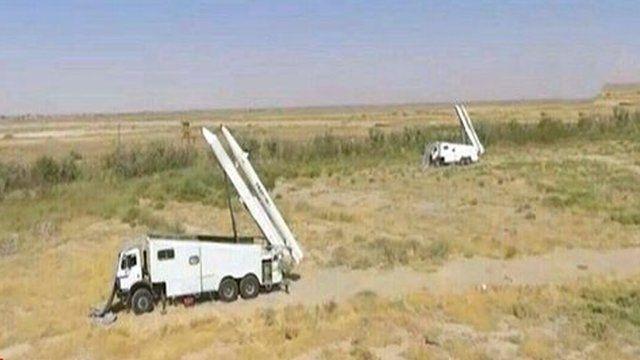 حمله موشکی سپاه پاسداران انقلاب اسلامی به پایگاه مخالفان کرد در خاک اقلیم کردستان