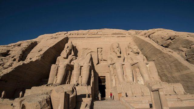Buuraha Nubiyaan oo loogu magac daray Ramses II