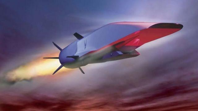 """美国高超音速飞行器""""X-51乘波者""""在2013年的试验中以5.1马赫的速度飞行直至燃油耗尽,持续飞行时间达210秒"""