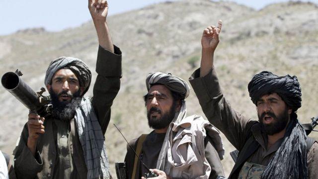 مسلحون من حركة طالبان في ولاية هيرات