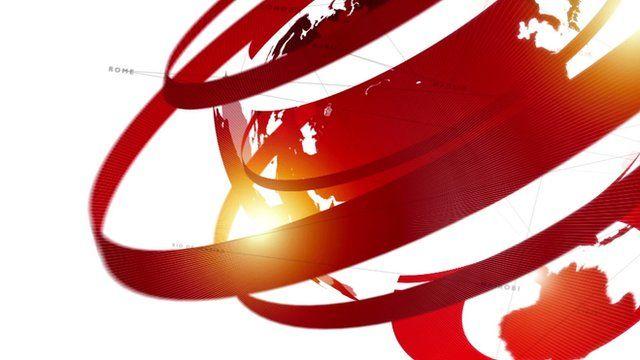 Still from BBC News sting