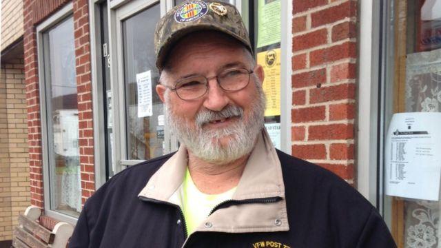 Robert Clites, un residente de Hyndman