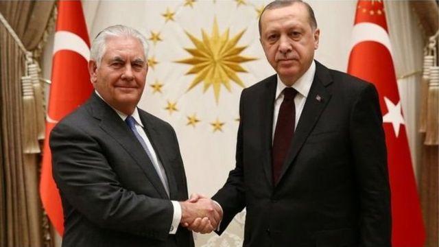 Erdoğan, Afrin, Suriya, ABŞ, Amerika