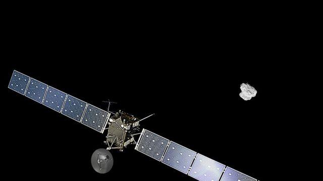Diseño de la misión Rosetta, de la Agencia Espacial Europea
