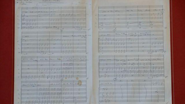 """La partitura de """"Eleanor Rigby"""""""