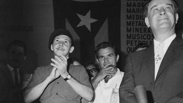 Raúl Castro e Jacobo Arbenz