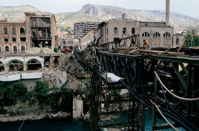 Зруйнований Мостар