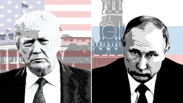 Donald Trump e Vladimir Putin
