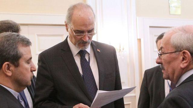 بشلر الجعفري ممثل الحكومة السورية