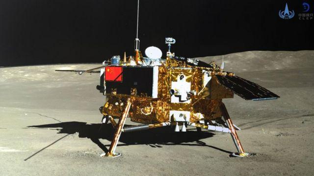 sonda china Chang'e-4 en la Luna