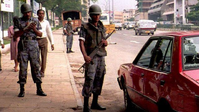 Dagaal ayaa dhexmay ciidammada Sri Lanka iyo fallaagada Tamil Tigers
