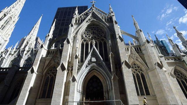 St Patrick Katedrali, 19'uncu yüzyılda inşa edilen bir Katolik kilise (Arşiv fotoğraf)