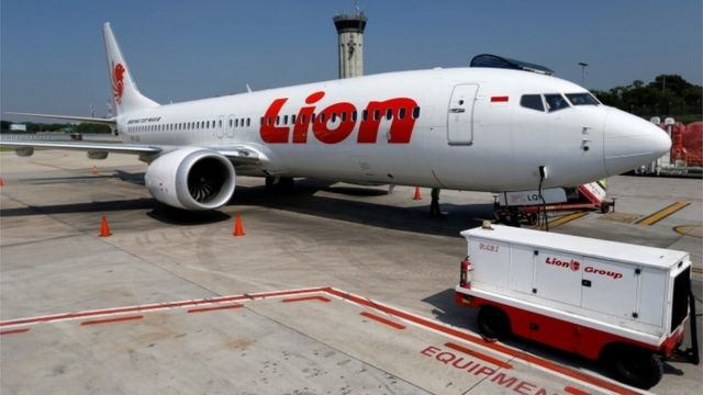 Un avión Boeing 737 Max de Lion Air