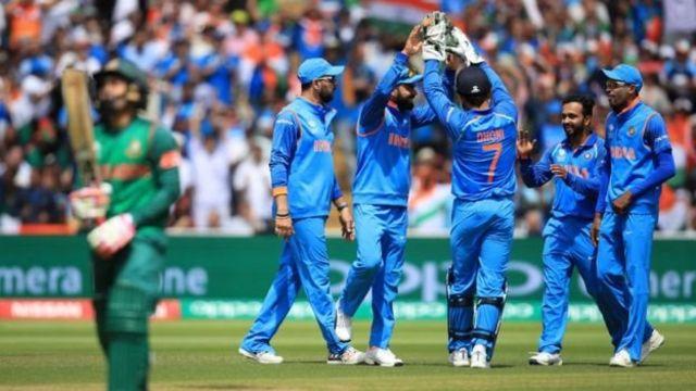 انڈین کرکٹ ٹیم بنگلہ دیش کے ساتھ