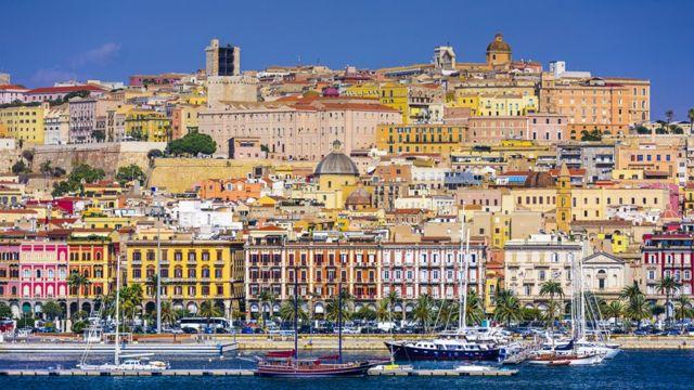 Кальяри, столица Сардинии