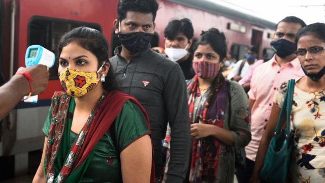 Замер температуры в Индии