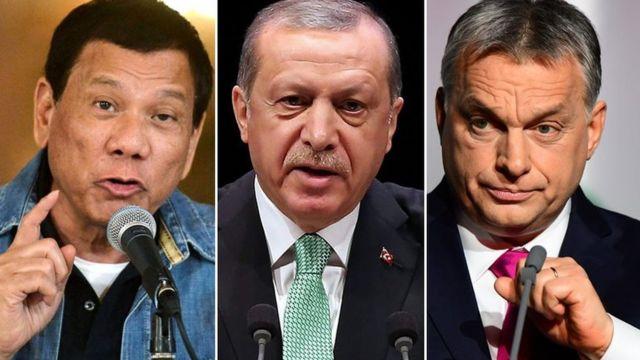 اوربان، اردوغان، دوترته