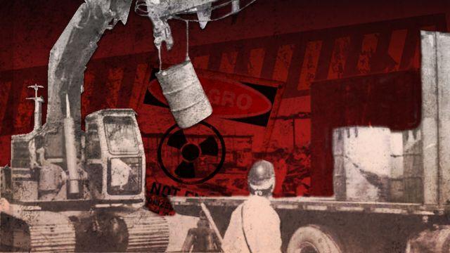 A busca por lixo radioativo