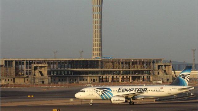 Imagem de 2014 mostra o avião que desapareceu no Mediterrâneo