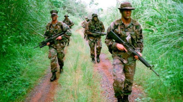 Marines en Estados Unidos