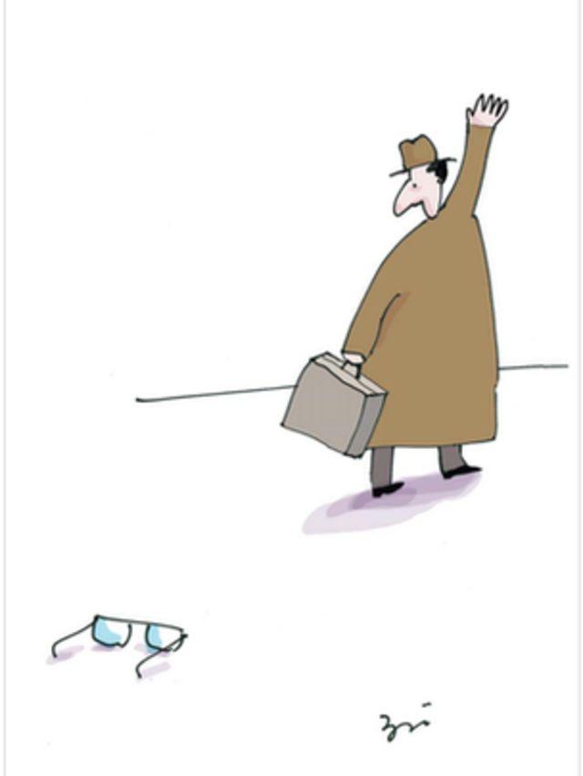 کارتون مسعود ضیایی. قانون